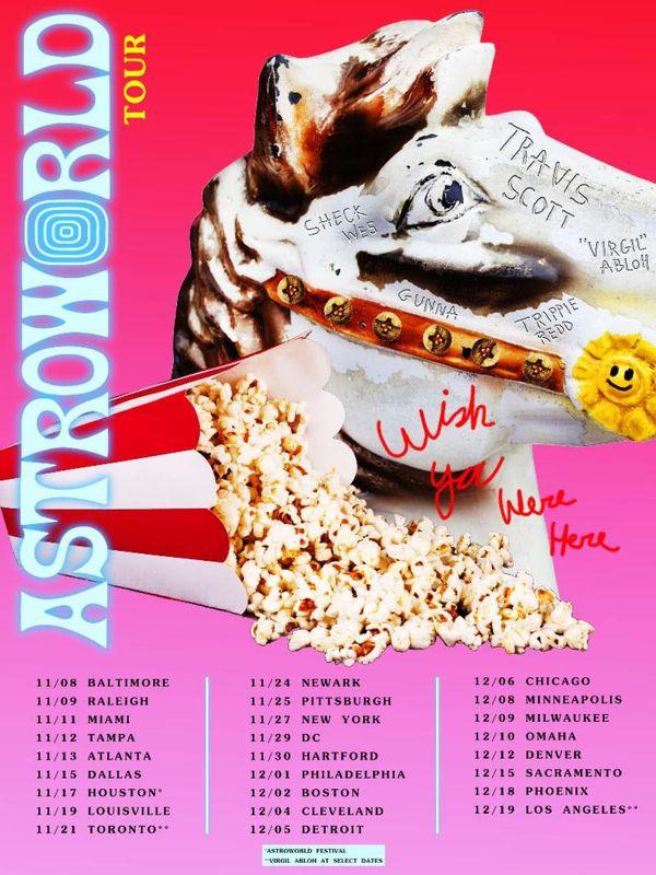 "6efa4a3260fa Travis Scott | Astroworld ""Wish you were here "" for Sale in Corona ..."