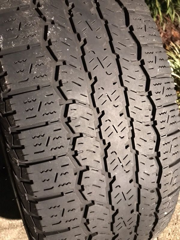Used Tires Greensboro Nc >> 1 Dunlop 265 60r18 Used Tire For Sale In Greensboro Nc Offerup