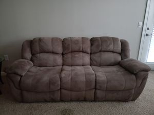 3- Piece (Good condition) reclining split couch and reclining chairs for Sale in Johns Creek, GA