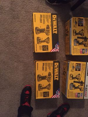 Dewalt Drill Kit (4) for Sale in Washington, DC