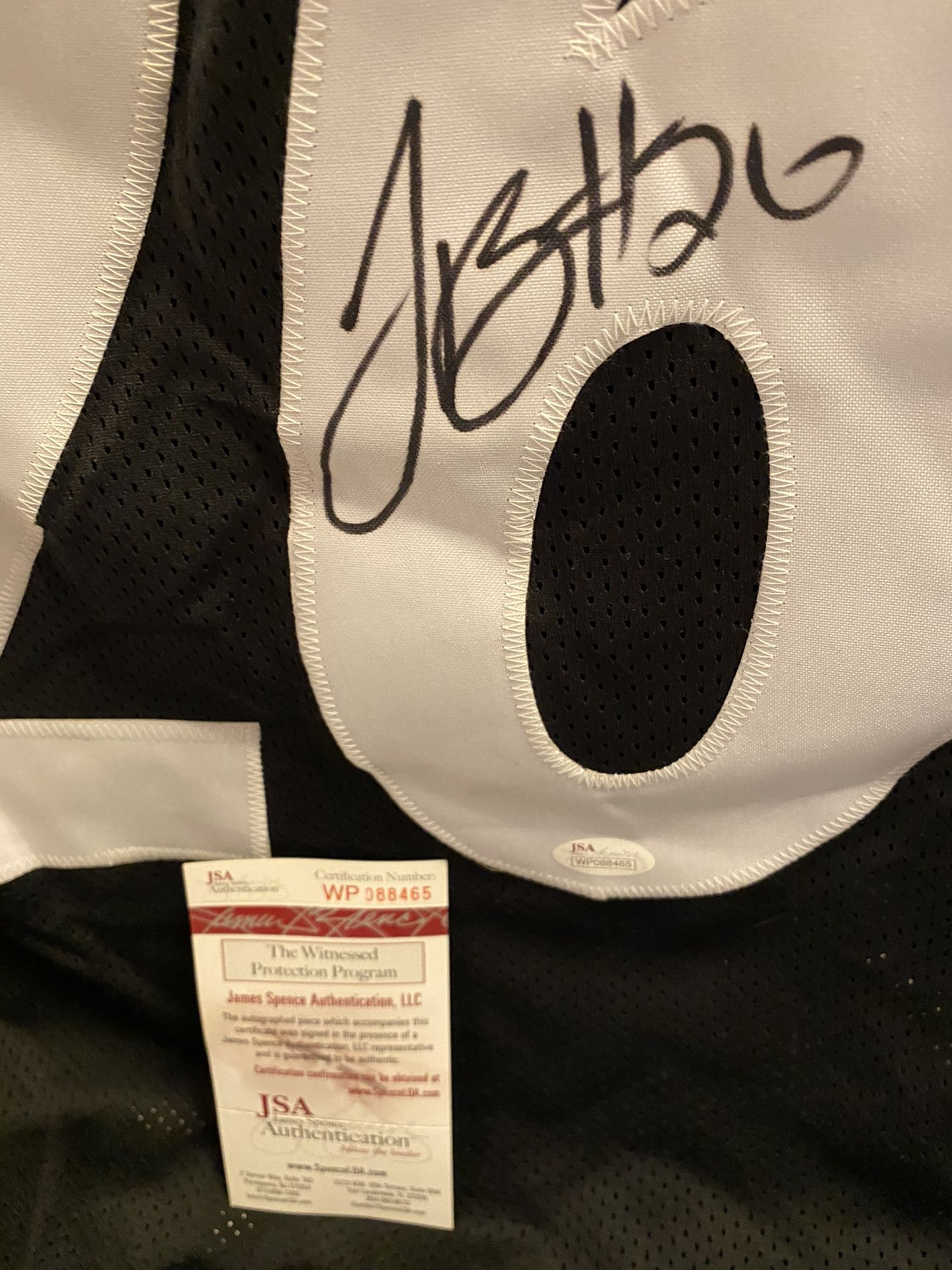 Leveon Bell Autographed NFL Jersey! JSA COA!
