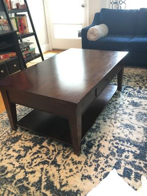Coffee table and end tables. for Sale in Alexandria, VA
