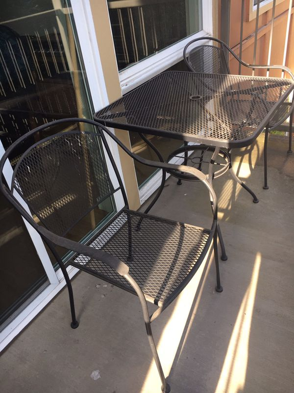 Metal Patio Furniture For In