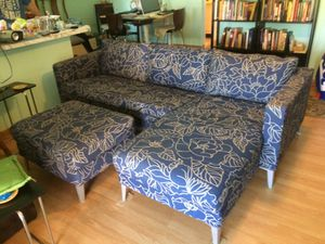 Sofa with lounger for Sale in Boca Raton, FL