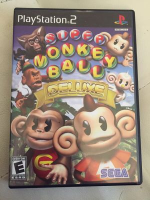 Rare PS2 Game - Super Monkey Ball Deluxe for Sale in Los Angeles, CA
