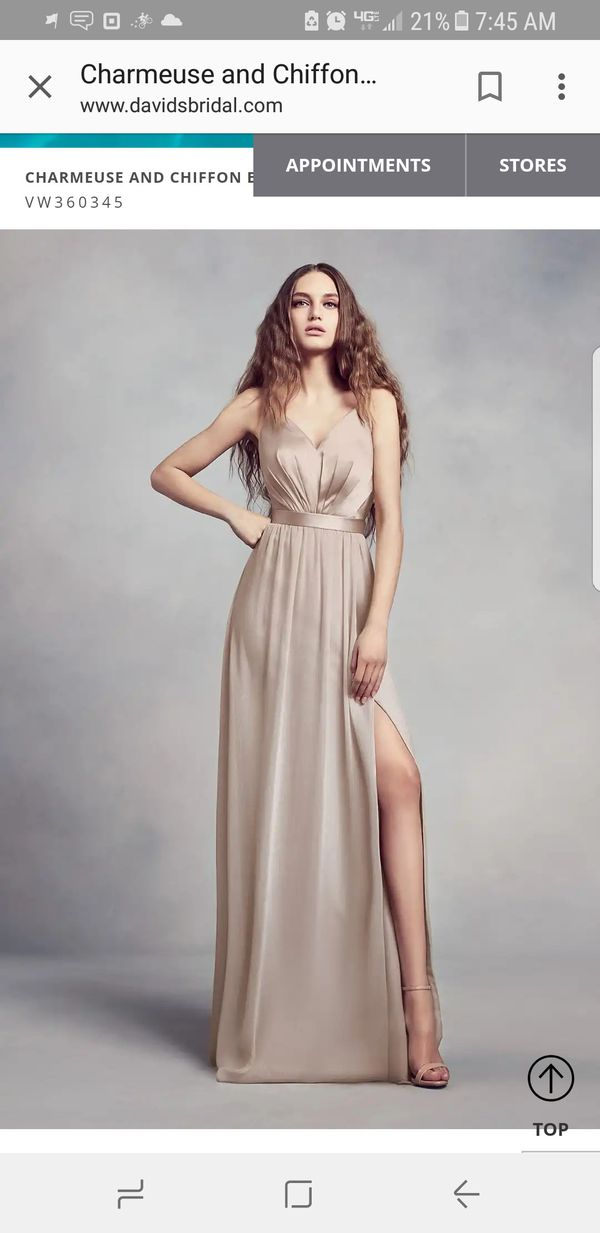 d1e1f9be6aef Bridesmaid dress Vera Wang for Sale in Modesto, CA - OfferUp