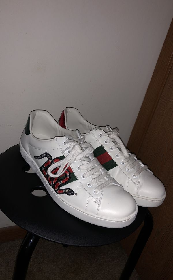 """f92bb7632ee Gucci Ace Trainers """"Snake"""" Men size 8.5 for Sale in Aurora"""