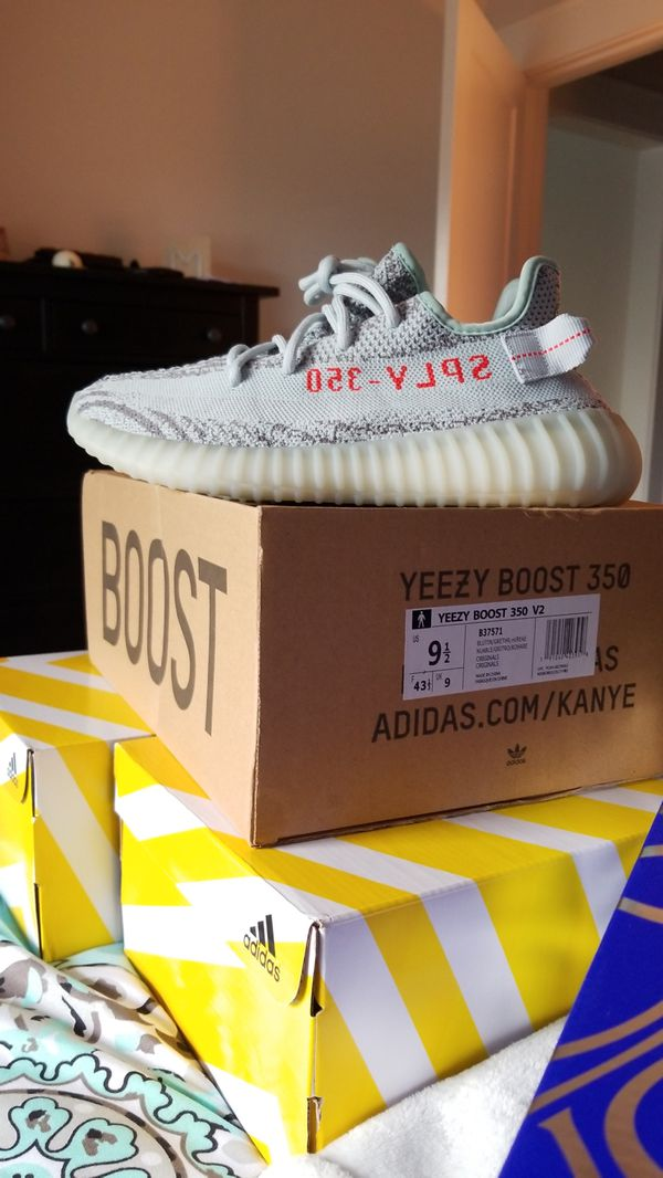 4630e3c7f9a Yeezy 350 V2 Blue Tint New 9.5 for Sale in Charlotte