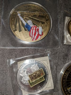 8 collectible coins for Sale in Sterling, VA