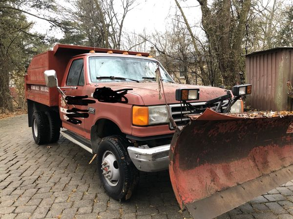 Dump truck with snow plow for Sale in West Chicago, IL ...