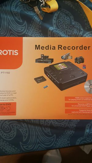 Dvd MEDIA RECORDER for Sale in Portland, OR