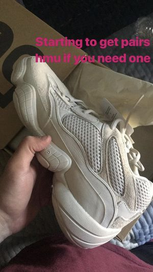 wholesale dealer d5d89 5e423 Yeezy 500s blush for Sale in Ashburn, VA - OfferUp