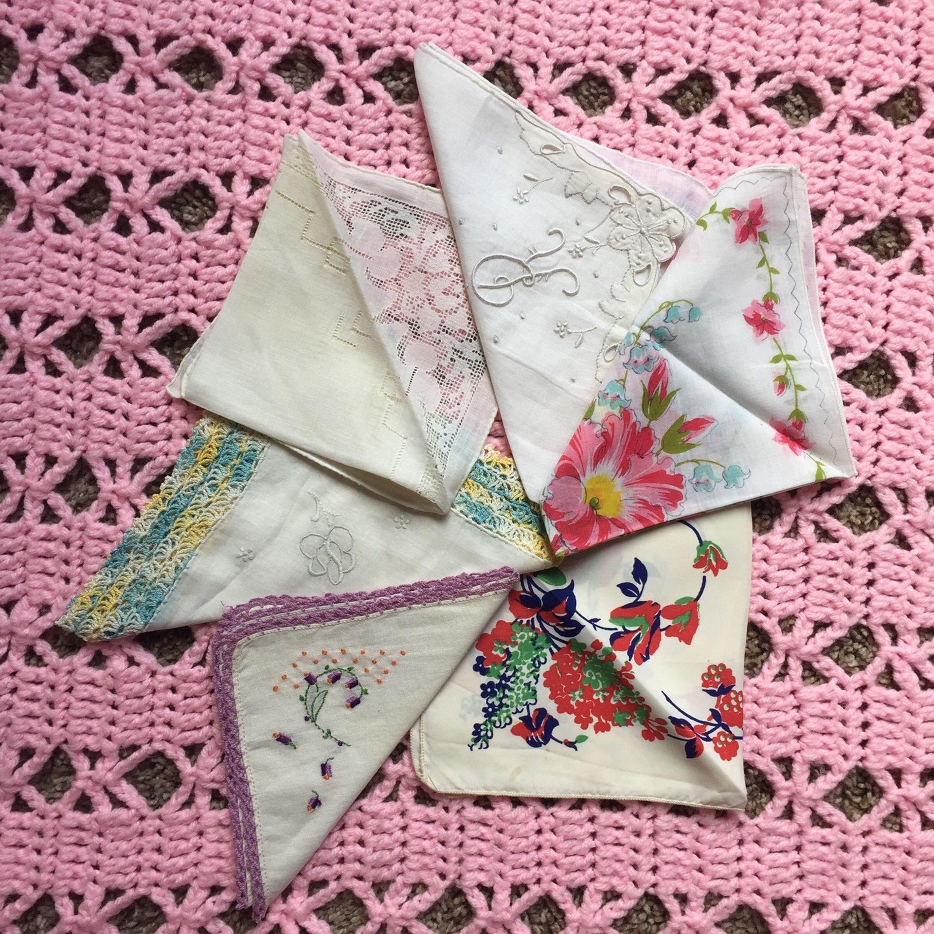 Antique Handkerchiefs #4