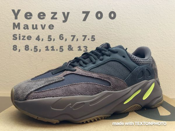 29b20203785fa Yeezy Boost 700 Mauve - Many Sizes - Brand New DS for Sale in ...