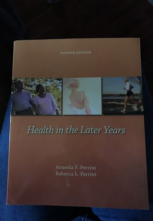 Health and wellness textbook for Sale in Portland, OR