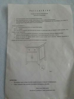 PERFECT CONDITION! Pottery Barn End Table cabinet Thumbnail