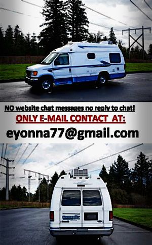 For Sale Ford E350 VAN motorhome full price listed RV for Sale in Cleveland, OH