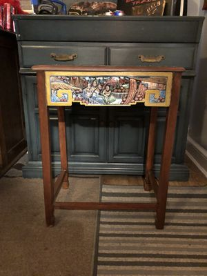 Accent Table / lap desk - hand painted R-Luxed custom for Sale in Silver Spring, MD