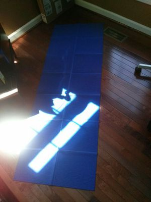 Yoga mat that folds up for Sale in Vienna, VA