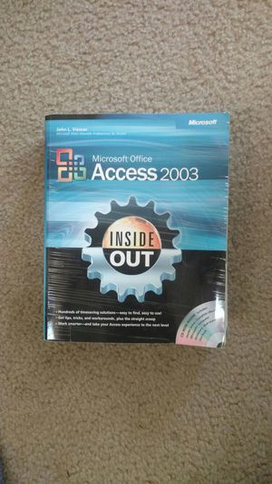 Microsoft Access 2003 guide for Sale in St. Louis, MO