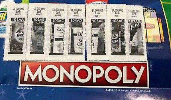 108ah monopoly game piece for sale