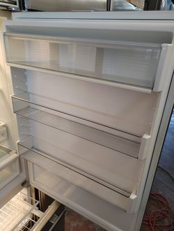"""Sub Zero 36"""" stainless steel built in French door refrigerator Thumbnail"""