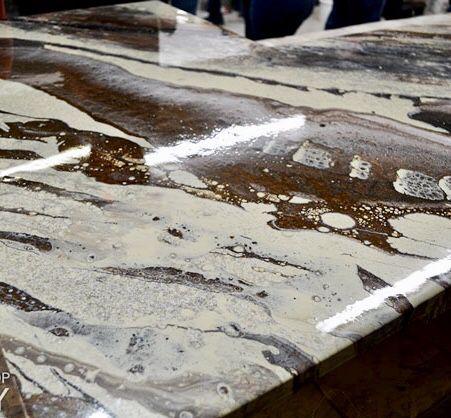 Epoxy Resin Countertops, Tables, Desks, and Original ...