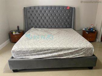 Velvet King Bed $599 /+/ Financing Available Thumbnail