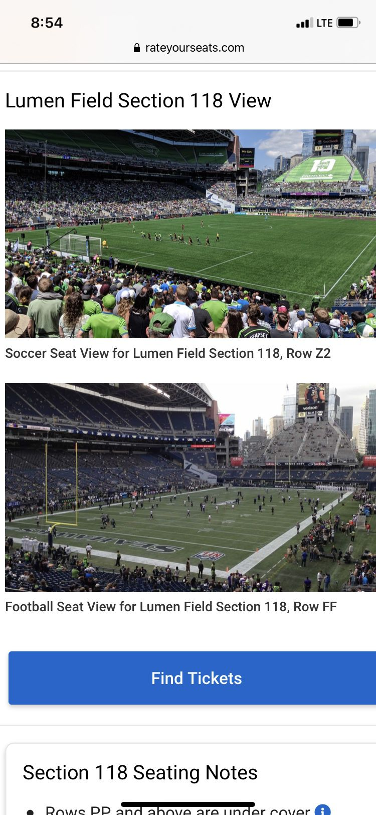 Seattle Seahawks vs. Tennessee Titans Home Opener NFL