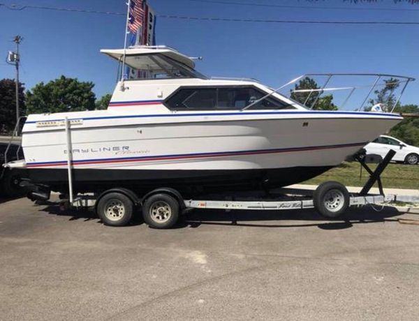 1994 bayliner 2452 classic hardtop fishing boat