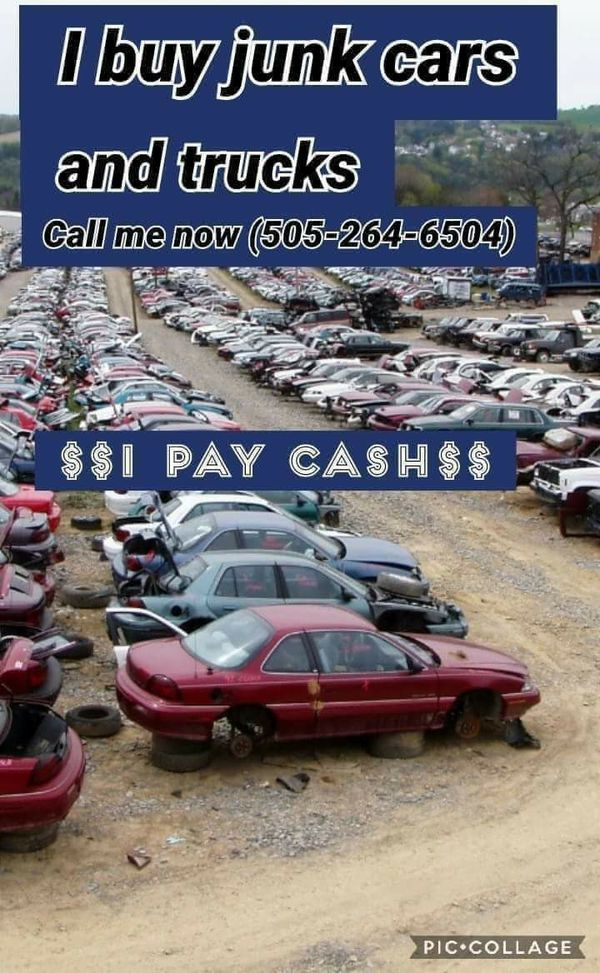 Cash for junk cars for Sale in Albuquerque, NM - OfferUp