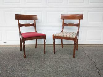 Pair chairs by Milling Road - A Division Of Baker Furniture (High End)  Thumbnail