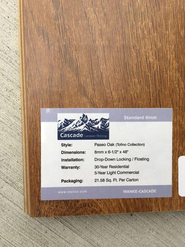43sf Cascade Laminate Tofino Collection Paseo Oak Flooring Home Garden In Vancouver Wa Offerup