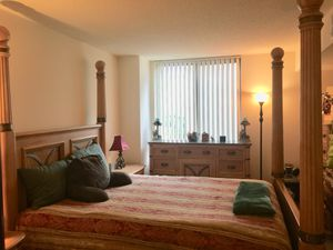 Blonde Solid Wood Queen Bedroom Set w/Marble Top for Sale in Bethesda, MD