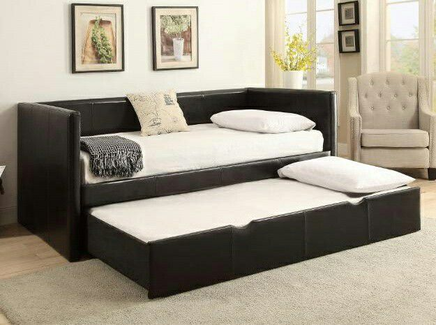 🐤Saide Daybed with trundle