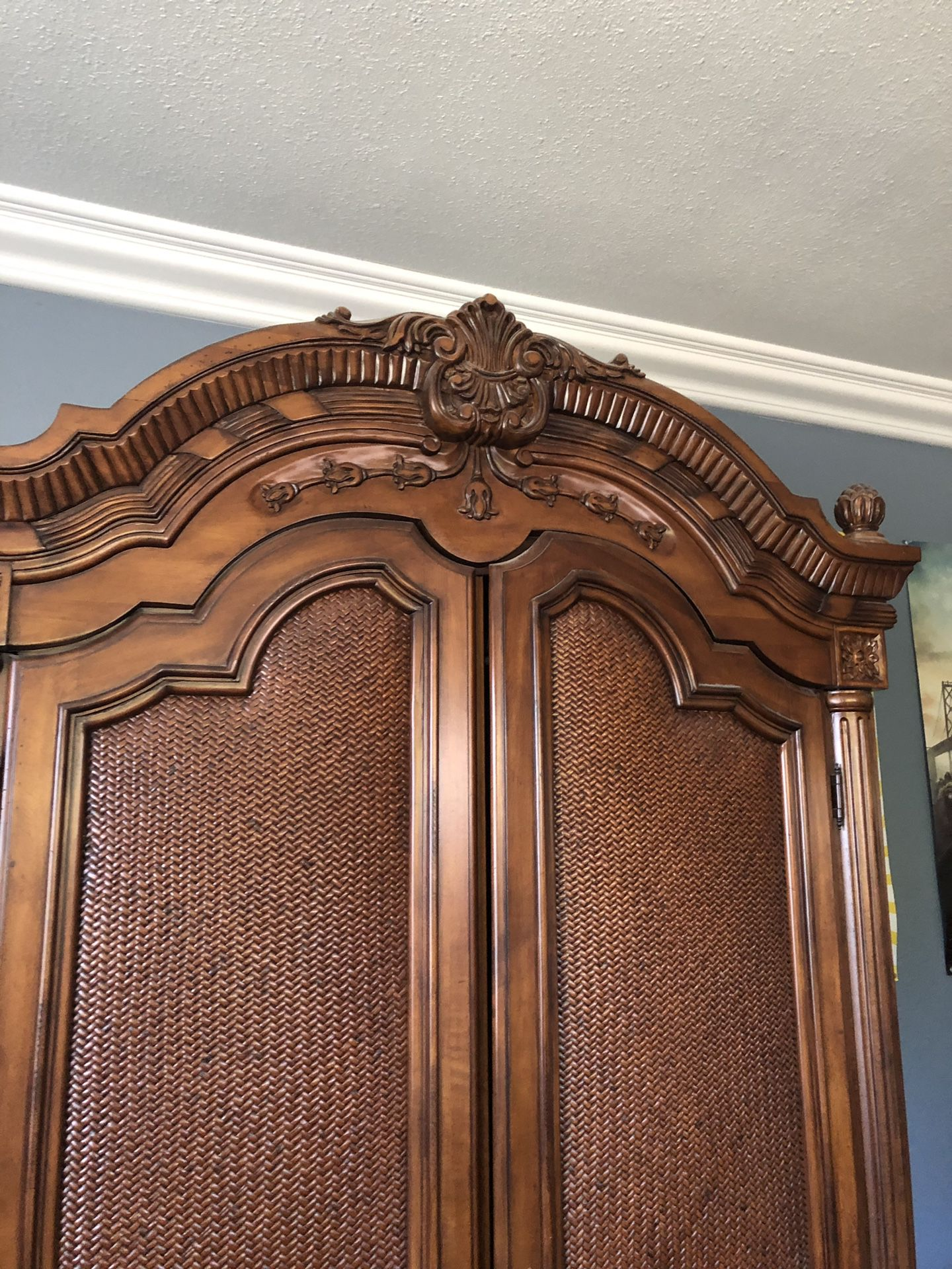 Antique armor wood really nice furniture ( antique designs )