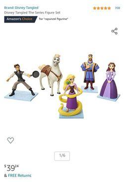 Disney Tangled Action Figure Set Thumbnail