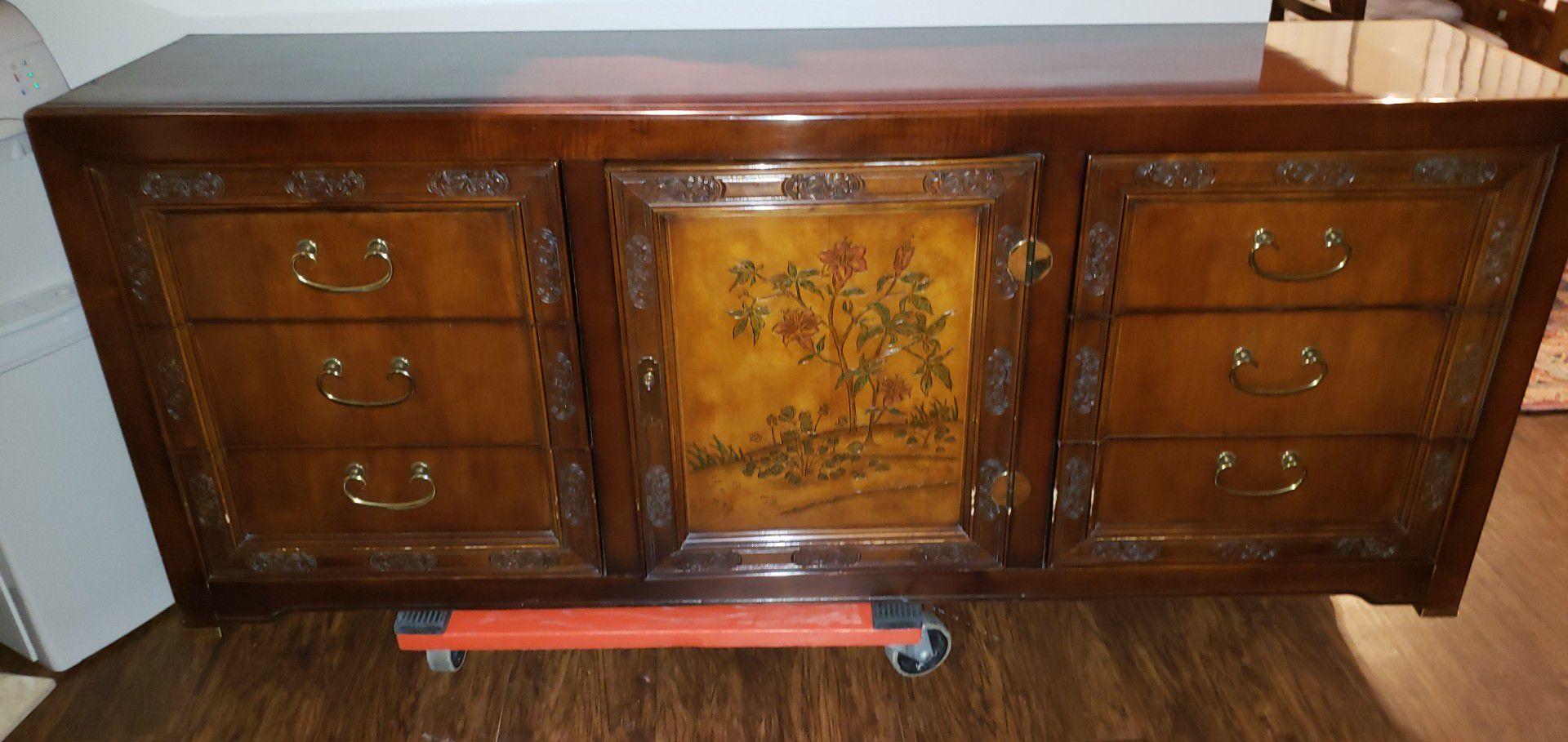 Bernhardt dresser with mirror