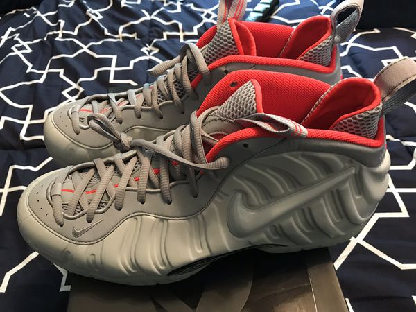 "5e93c9a09df Brand new Nike foamposite ""pure platinum"" yeezy size 15 for Sale in ..."
