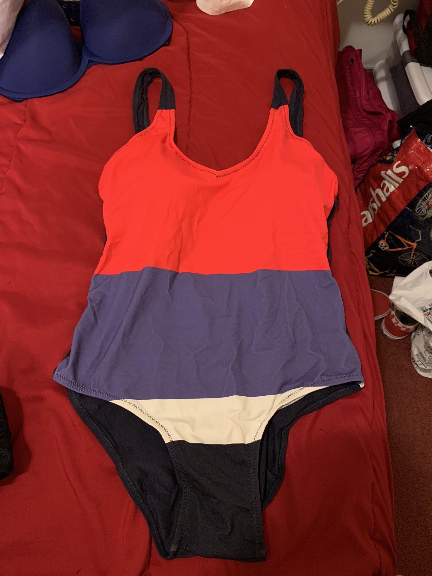Size medium one piece swim wear