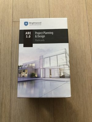 ARE 5.0 PPD Brighwood Architecture Flashcards for Sale in Boston, MA