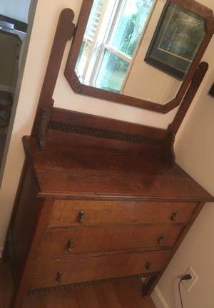 Antique nice buffet or small dresser our show piece in entry. for Sale in Issaquah, WA