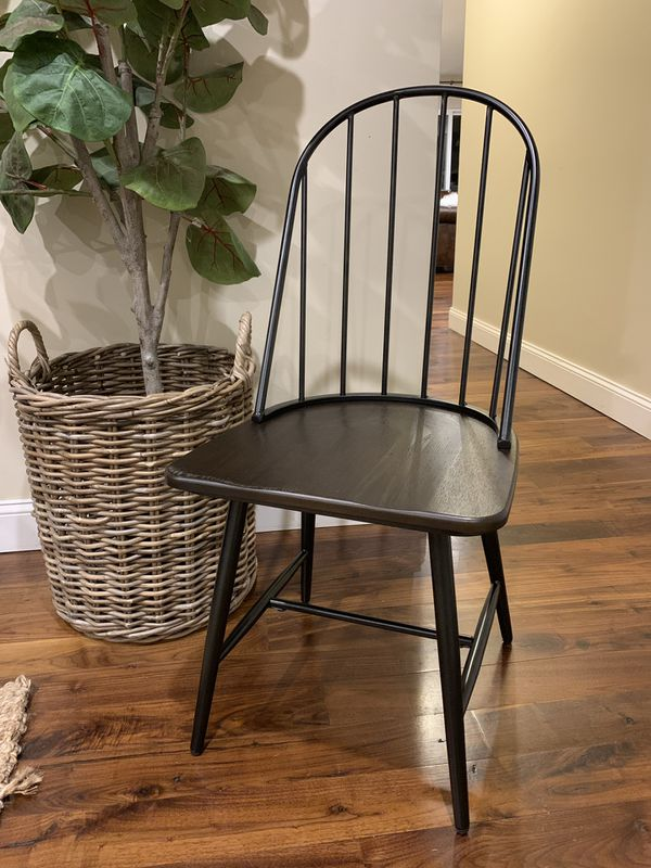 Cute Metal And Wood Chair 35 For Sale In Bourbonnais Il Offerup