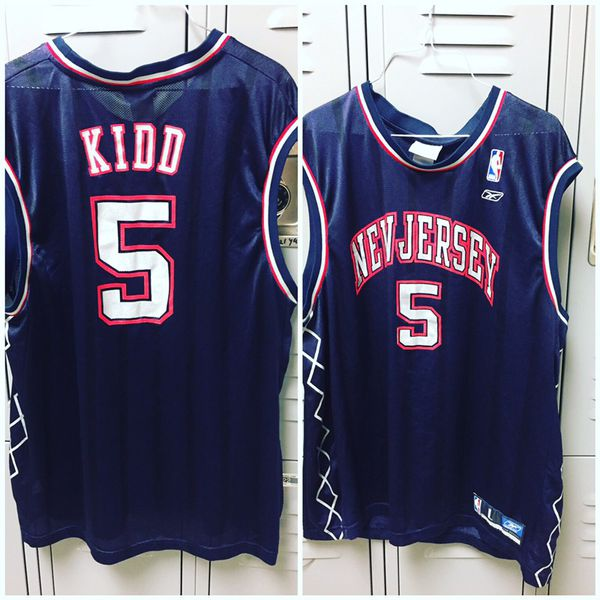 separation shoes 7f99c 41734 New Jersey Nets Jason Kidd jersey large for Sale in Houston, TX - OfferUp