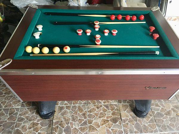 GREAT AMERICAN Pool Table In Impeccable Conditions Incl - Great american pool table