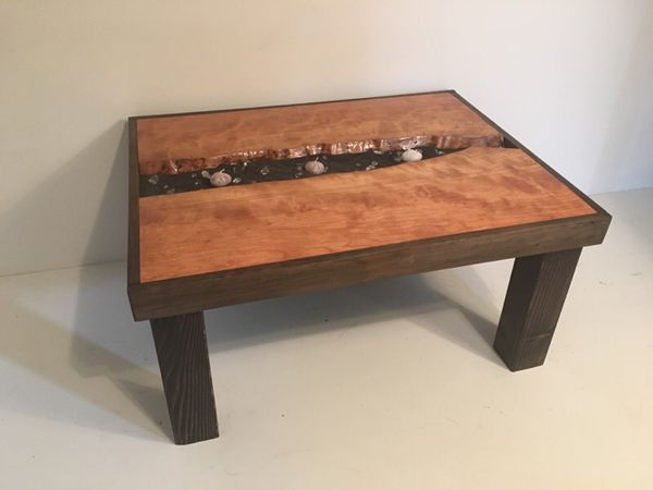 Coffee Table Cherry Live Edge Wood For Sale In Morgantown Wv Offerup