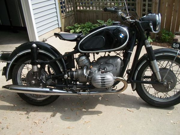 1959 BMW R60 EARLES FORK VINTAGE MOTORCYCLE for Sale in Lyons, IL - OfferUp