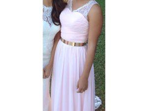 Azazie Beverly Bridesmaid Dress in Blush for Sale in Orlando, FL