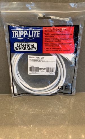 Tripp Lite 6ft Mini DisplayPort to DisplayPort P583-006 for Sale in Seattle, WA