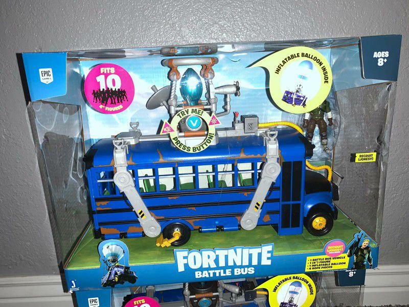 Fortnite Battle Bus Delux